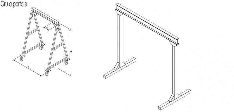 Steel frame gantry crane chain hoist 2 ton-gru-portale.jpg