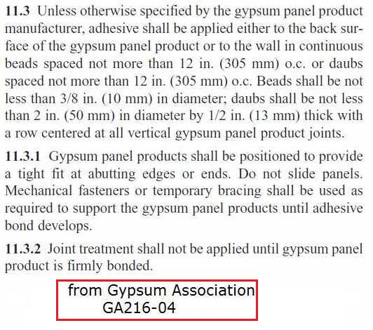 Glueing Drywall to a Garage Block Wall-gypsum_assoc-adhesive.jpg