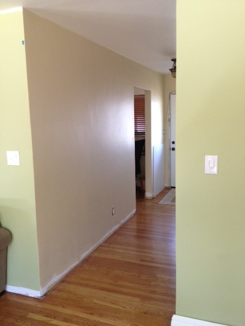 How to end wainscoting?-hallway.jpg