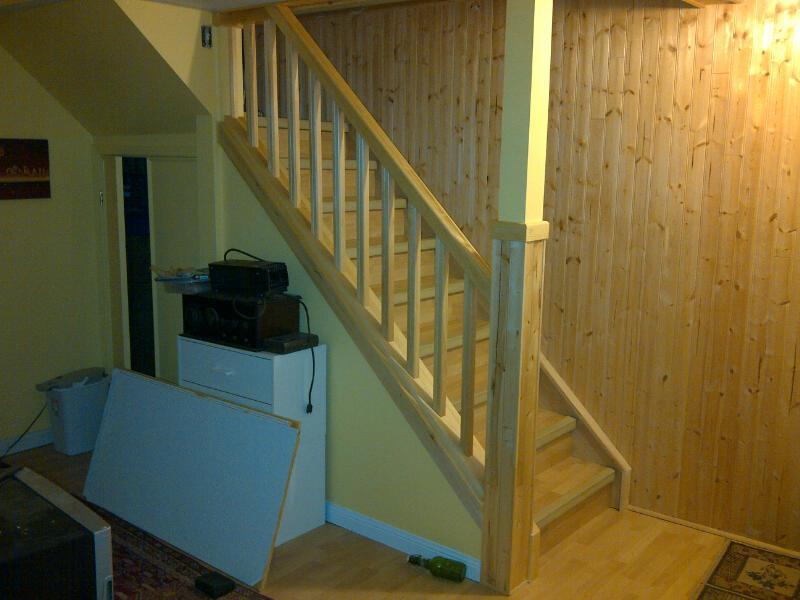 Basement Handrails In Ontario   Help! Handrail
