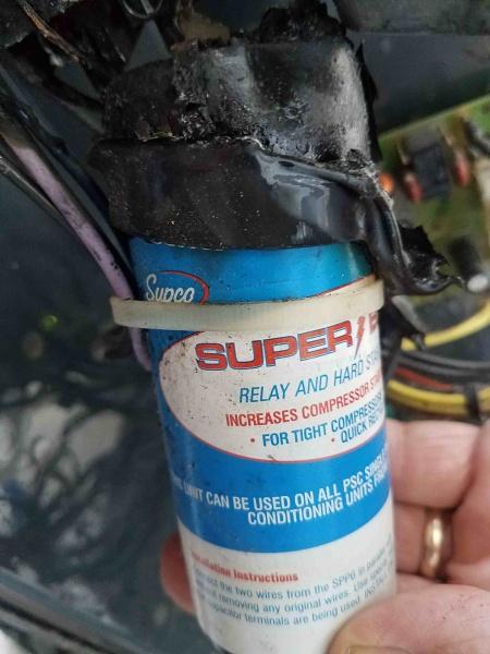 Trane xb10 hard start capacitor started on fire-hard-start-front.jpg