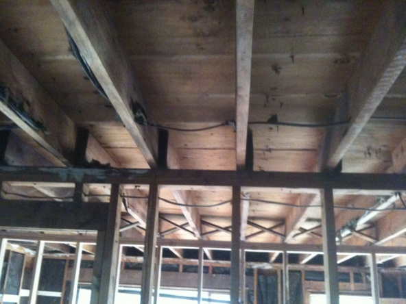 how to build a load bearing wall header