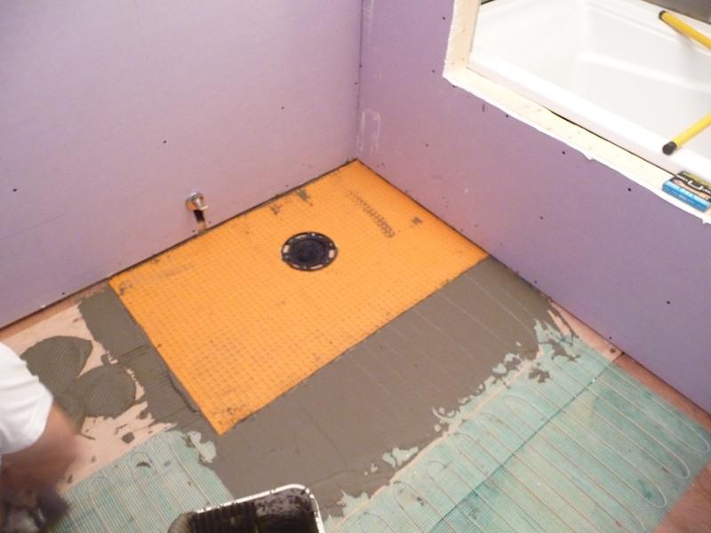 Off work for the next week completely remodeling bathroom-heat-plus-ditra.jpg
