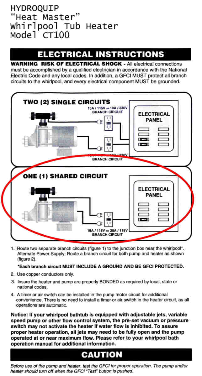 Installing A Diffe Switch On Whirlpool Tub Heater Instructions Jpg