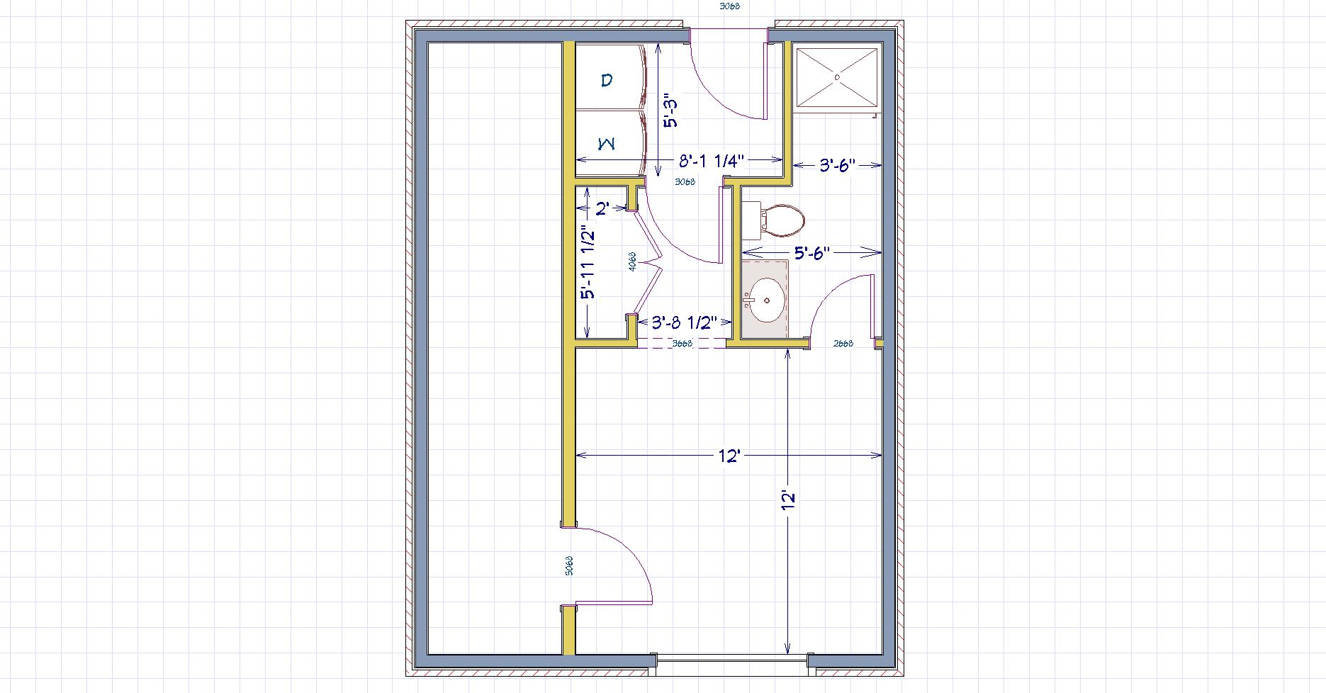How would you make this current room a bedroom maybe with a bath?-help.jpg