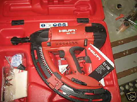 Attractive Gun Powder Ram Set Hilti Gx100 ...