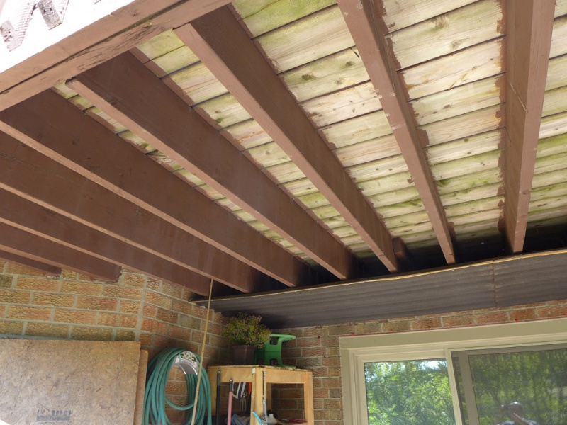 Keep Floor Joists Extended Outside Bat To Support Deck Addition Home Design 1