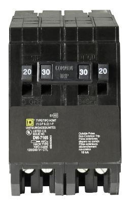 Can  you mix 20 and 15-20 circuit breakers in same electrical box?-homeline_quad.jpg