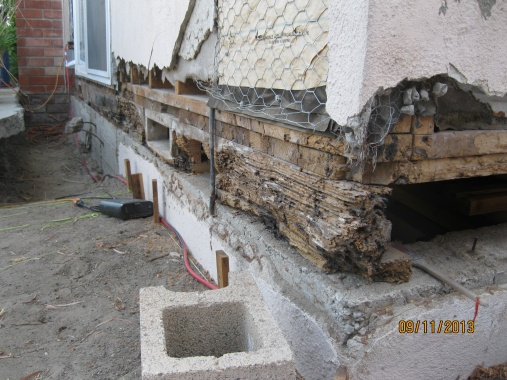 How To Replace A Rotted Sill In An Older Home Building