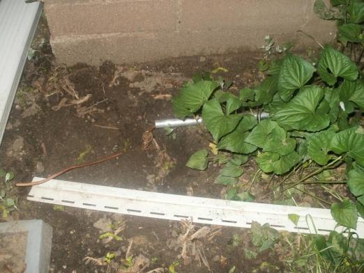 Ground rod wire in conduit?-house-ground-conduit-2-closeup.jpg