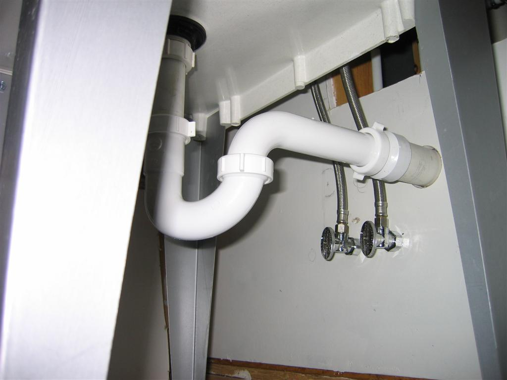 Laundry Sink Plumbing : Installing A Utility/laundry Sink Off Centered - Plumbing - DIY Home ...