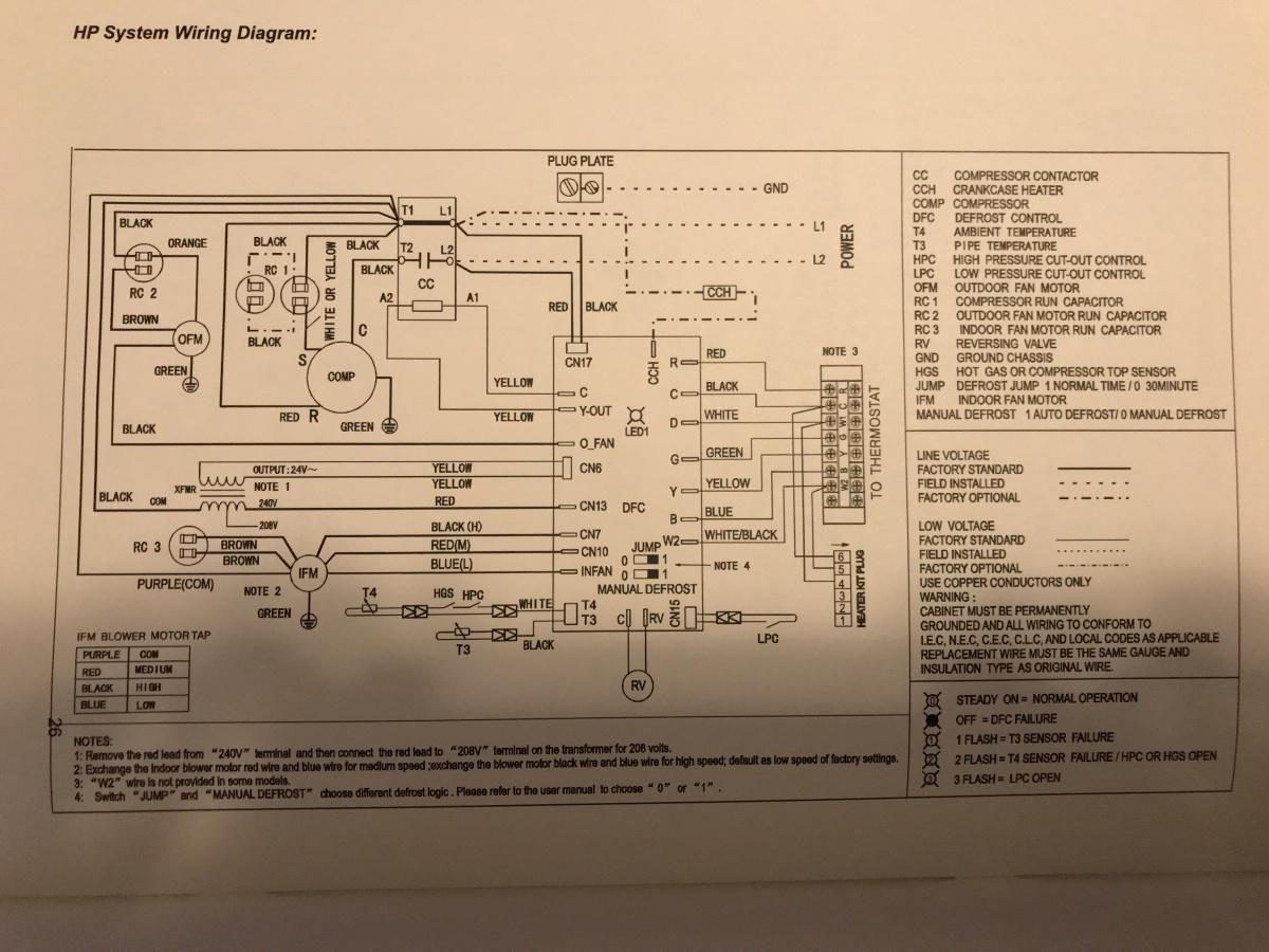 Midea Heat Pump Question - Hvac