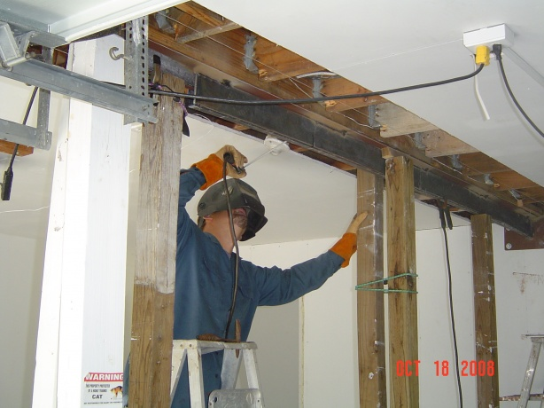 Support I Beam Needed - Building & Construction - DIY ...