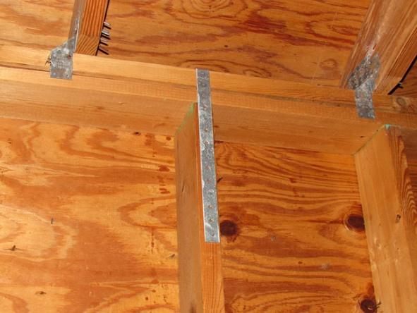 Drywall Over Hurricane Straps Drywall Amp Plaster Diy