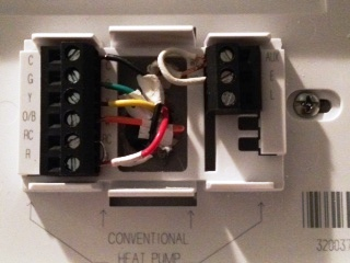 Hook up honeywell thermostat