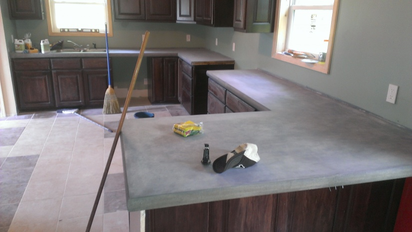 Concrete Countertop Project Concrete Stone Amp Masonry