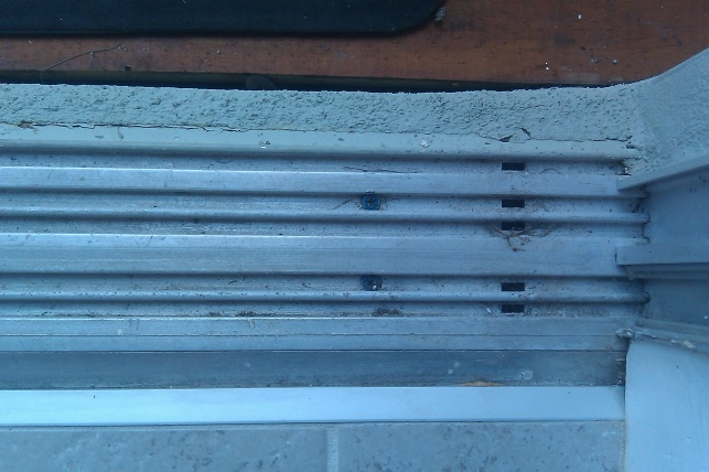 Sliding Glass Door Leak General Diy Discussions