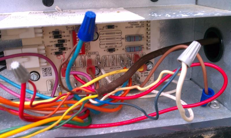 Wiring Thermostat - Hvac