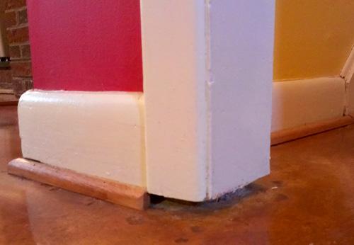 Advice On How To Finish Door Frame/floor Gap? - Flooring - DIY ...