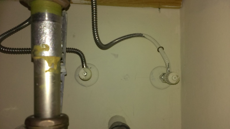 Cost To Replace Bathroom Sink Supply Lines Diy Home Improvement Forum