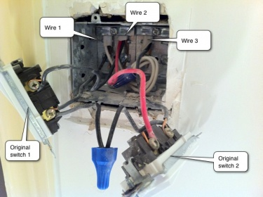 pictures confused over double light switch wiring help rh diychatroom com  2 way double dimmer switch wiring