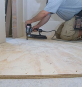 How To Do Plywood Underlayment For Sheet Vinyl Flooring