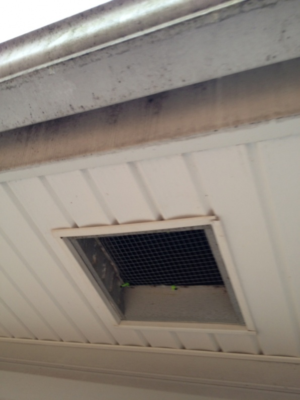 How To Close Off A Soffit Exhaust Vent Permanently