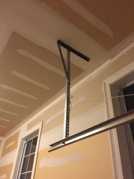 Garage Door Track Hanger Bending General Diy Discussions Diy