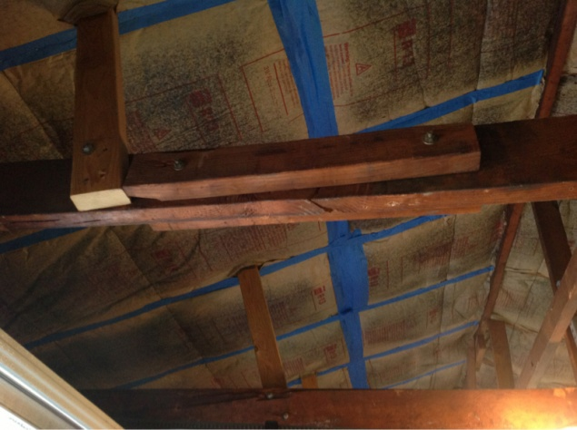 Repair/ support garage rafters-image-1710923429.jpg