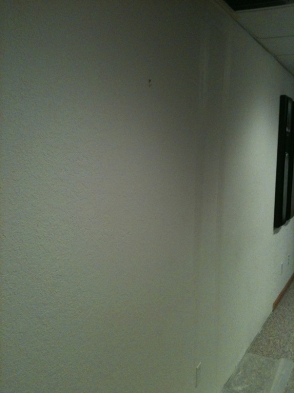 Painting Drywall W Knockdown Texture Painting Diy