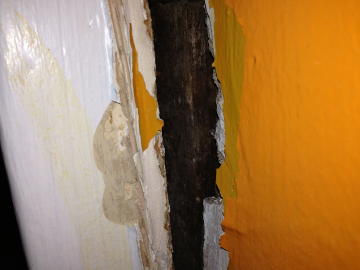Filling a gap between wall and door frame.-image-1931397102.jpg