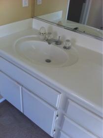Retrofit Bathroom Vanity With Above Counter Sink General Diy