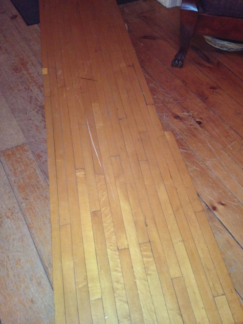 Refinishing Reclaimed Maple Flooring Flooring Diy