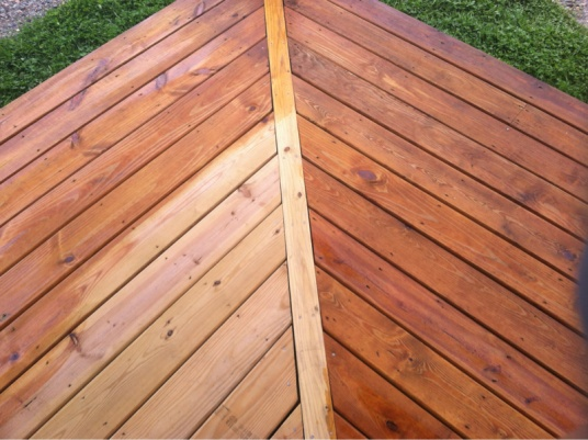 Can I Stain My Deck A Darker Color