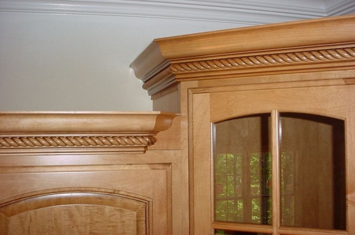 Cabinet Crown Molding Install Crown Molding On Kitchen Cabinets Images