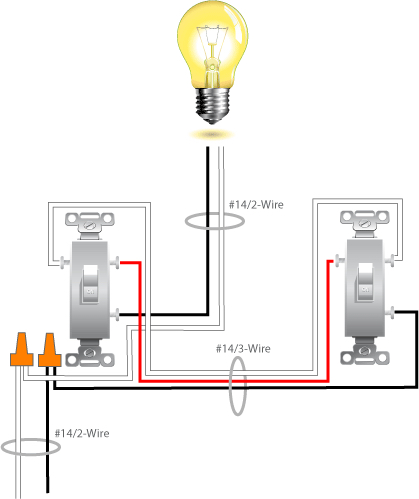 way switch wiring options image wiring diagram 4 way switch question electrical diy chatroom home improvement on 4 way switch wiring options