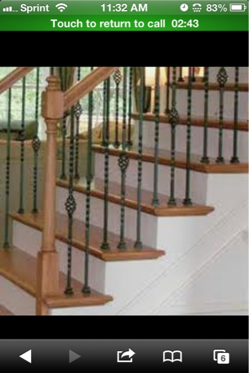 Changing wood spindles to wrought iron.-image-2346514736.jpg