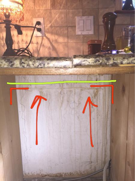 Granite Countertop Sagging Image 2348652259