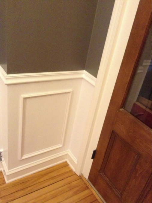 Wainscoting picture frame style: mounting, caulking, and expansion question-image-2613796922.jpg
