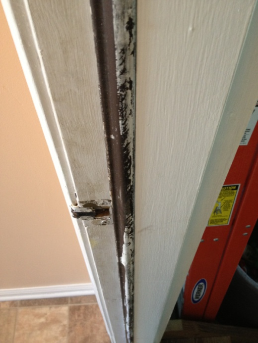 ... Removing paint from outside door weather strip-image-2773980723.jpg & Removing Paint From Outside Door Weather Strip - Painting - DIY ...