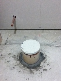 Installing A New Toilet Flange - Before Or After Tiling - Plumbing ...