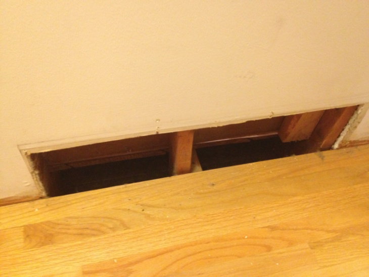 Infill subflooring/hardwood at relocated return air vent:-image-2890502750.jpg