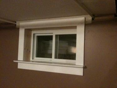 Crown Molding Meets Window Trim Carpentry Diy Chatroom