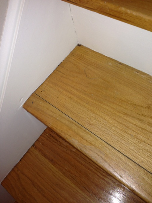 replacing oak stair