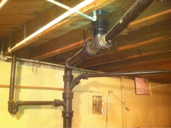 How to rough in basement bathroom plumbing diy home improvement diychatroom for How to rough in a basement bathroom
