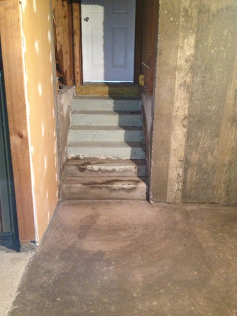 Covering Concrete Stairs With Plywood Image 3099881542