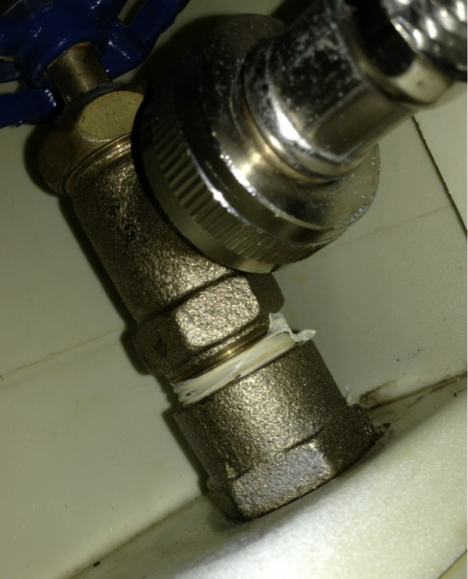 Cant Remove Washing Machine Shutoff Valve Plumbing DIY Home