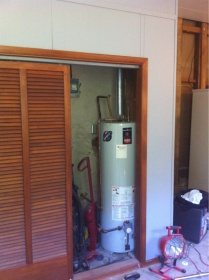 Water Heater In Closet Appliances Diy Chatroom Home