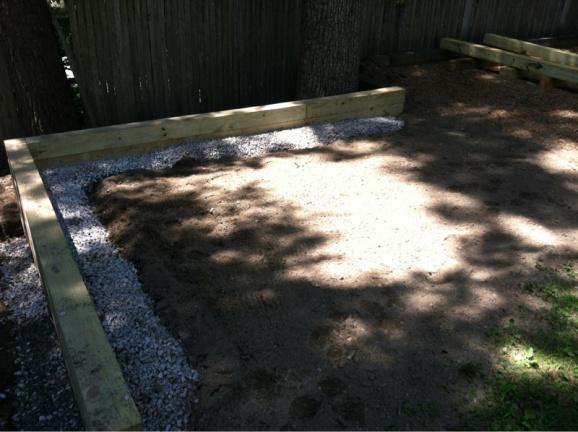 Timber Retaining Wall Screws Vs Spikes Diy Home Improvement Forum