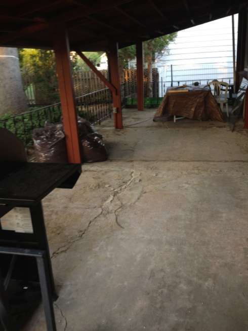 Concrete Patio Enclose with Pressure Treated Wood-image-3306103416.jpg